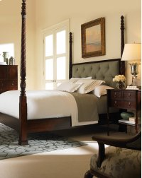 Poster Bed With Uph Headboard - King Size 6/6 Product Image