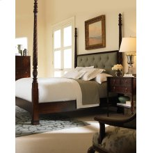 Poster Bed With Uph Headboard Cal King Size 6/0
