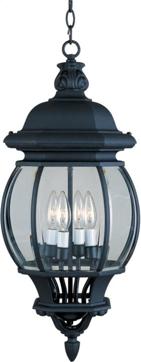 Crown Hill 4-Light Outdoor Hanging Lantern