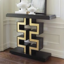Race Track Console-Black/Gold