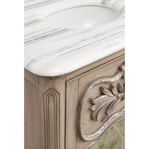 Laurel Petite Sink Chest - Grey