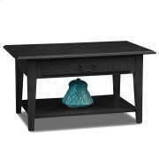 Shaker Solid Oak Drawer Coffee Table #10029-SL/SL Product Image
