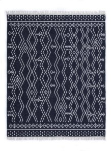9'x12' Size Indio Diamond Stripe Rug