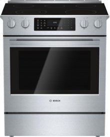 "800 Series 30"" Electric Slide-in Range 800 Series - Stainless Steel HEI8054C"