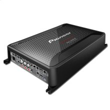 Class D 5-Channel Amplifier with Wired Bass Boost Remote
