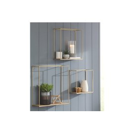Wall Shelf Set (3/cn)
