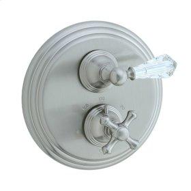 Asbury - Thermostatic Control Valve Trim - Brushed Nickel