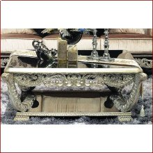 Table Black with Silver 196