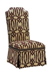 Cross Channel Side Chair