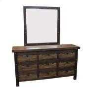 """Mirror : 38"""" x 40"""" x 1.5"""" Uptown Dresser/Mirror Product Image"""