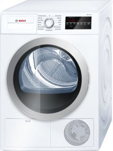 """500 Series 24"""" Compact Condensation Dryer 500 Series - White WTG86401UC"""