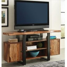 Knox Industrial Black TV Console