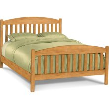Queen Mission Headboard / Footboard / Rails. Available in King, Queen, Full, Twin