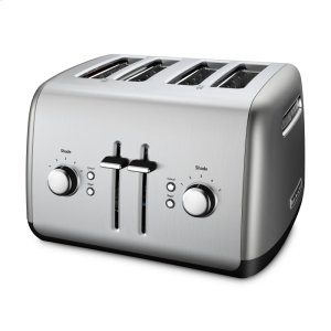 Kitchenaid4-Slice Toaster with Manual High-Lift Lever - Contour Silver
