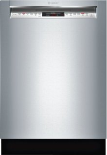 """800 Series 24"""" Recessed Handle Dishwasher 800 Series- Stainless steel SHE878WD5N"""