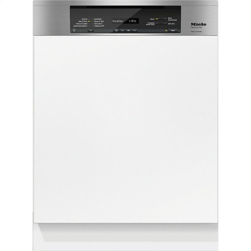 G 6835 SCi AM Integrated, full-size dishwasher with visible control panel, 3D+ cutlery tray and custom panel ready