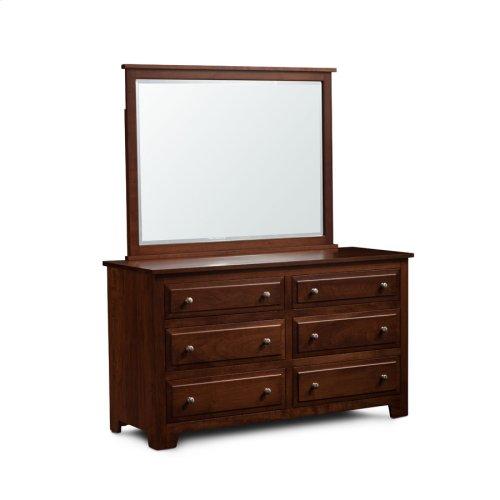 Homestead 6-Drawer Dresser, Medium