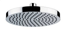 Country Bronze Contemporary Shower Head With Easy Clean Nozzles