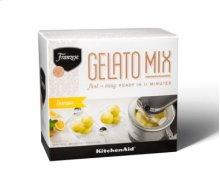 Franzese Authentic Italian Gelato Mix (14.1 oz) Twin Pack - Lemon Flavor
