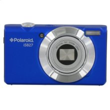 Polaroid 16-Megapixel 32x High Optical Zoom Digital Camera with 3.0-Inch Full Touch LCD Screen Display, iS827-BLUE