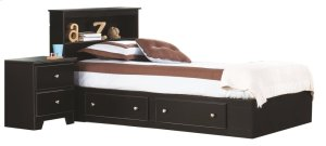 2-Drawer Mates Bed Assembly (1 box, hdbd NOT included)