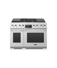 48-inch Dual-Fuel Pro Range with Sous Vide and Induction