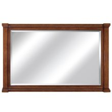 60 in. W Brown Vanity Mirror