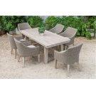 Renava Montara & Gazos - Outdoor Beige Dining Set Product Image