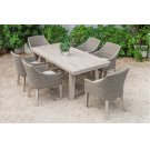 Renava Montara & Gazos - Outdoor Beige Dining Set Product Image