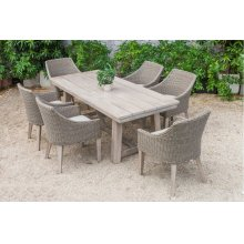 Renava Montara & Gazos - Outdoor Beige Dining Set