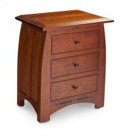 Aspen Nightstand with Drawers and Inlay Product Image