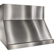 """48"""" Stainless Steel Range Hood with Internal and External Blower Options"""