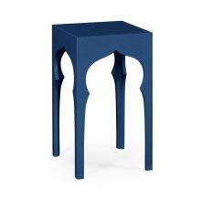 Square Lamp Table (Patriot Blue)