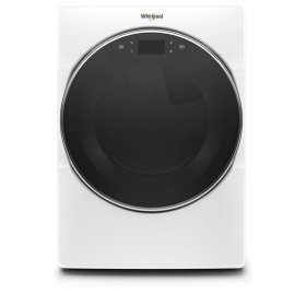 Whirlpool® 7.4 cu.ft Smart Front Load Gas Dryer with Remote Start - White