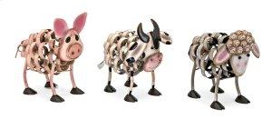 Farm Animal Statuaries - Ast 3