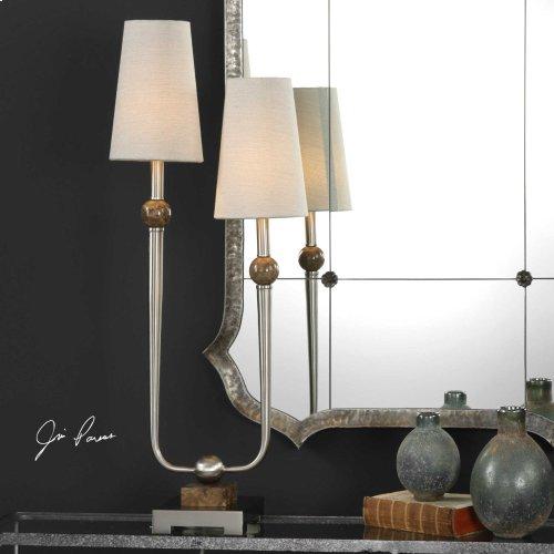 Claret Accent Lamp