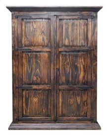 Med Armoire W/ Full Hideaway Bed