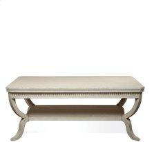 Huntleigh Rectangular Coffee Table Vintage White finish