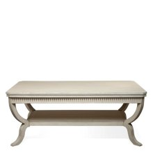Huntleigh Rectangular Coffee Table Vintage White finish