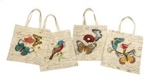 Ruthy Embroidered Bags - Set of 4
