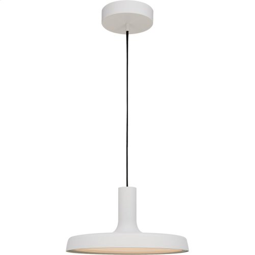 Visual Comfort PB5010STW Peter Bristol Dot LED 14 inch Stone White Pendant Ceiling Light