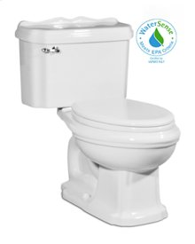 Barrymore Two-piece Toilet in White