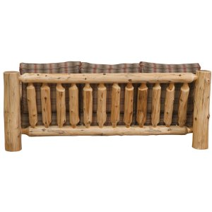 Sofa - Natural Cedar - Upgrade Fabric