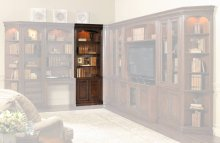 "European Renaissance II 32"" Door Bookcase"