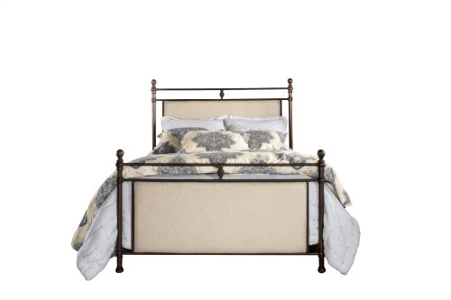 Ashley Headboard and Footboard - Queen - Metal Bed Rail Not Included