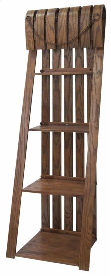 Deer Run Sled Bookcase