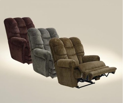 """Lay Flat"" Recliner w/Ext Otto"