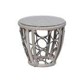 "Pebble Brook 24"" Round Side Table"