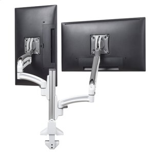 Chief ManufacturingKontour K1C Dual Monitor Dynamic Column Mount, Reduced Height, White