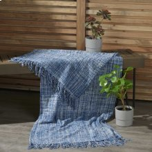 Outdoor Throws Ih018 Navy 50 X 60 Throw Blanket